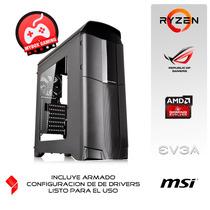 Pc Gamer Amd Ryzen 5 1500x - 8gb Ddr4 - Rx 470 4gb