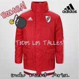 Camperon River Plate Abrigo adidas Rojo 100% Original