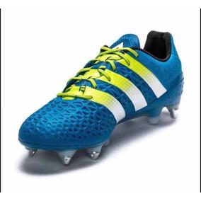 Chuteira Adidas Ace 16.1 Tkrz - Chuteiras Azul no Mercado Livre Brasil 6deba85bd483e
