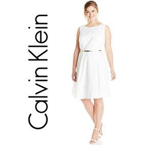 Vestido Cocktail Calvin Klein Talla Extra Unico