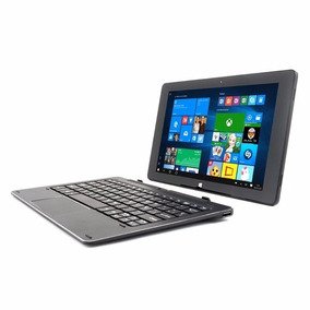 Tablet 10 Pulgadas Pcbox Con Teclado Marc 2 En 1 Win10 2gb