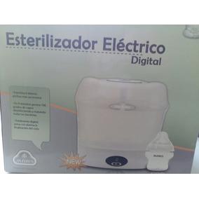 Esterilizador Electrico Digital Maws ( Capacidad 6 Teteros)