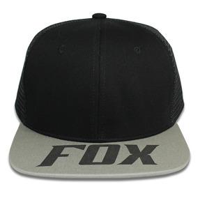 Gorra Fox Estilo Mexico Gris Unisex