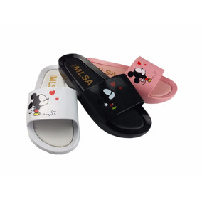 Melissa Beach Slide 50% Original Mickey Minnie Beijo