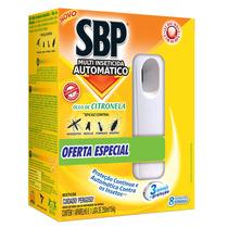 Sbp Atutomatico Óleo De Citronela 250ml (aparelho + Refil)