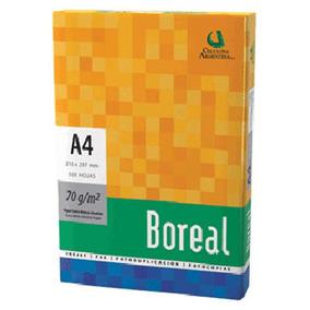 Papel Resmacel Boreal Com. A4 500h Bo A4