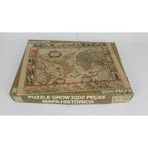 Quebra Cabeça Puzzle Mapa Histórico - Grow