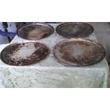Bandeja Para Hornear Pizzas 40cm De Aluminio C/u