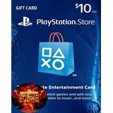 Tarjeta Playstation Card 10 Usd Psn Ps4, Psvita, Ps3