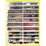 Armário Colméia Para Sapatos, Expositor Sapatos Loja Closed