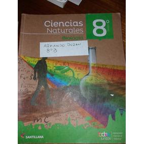 Libro Octavo Basico Poco Uso Ciencias Naturales Santillana T