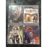 Paquete 4 Juegos Playstation 3 -originales Buen Estado