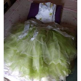 Vestido De Quince Color Verde Manzana
