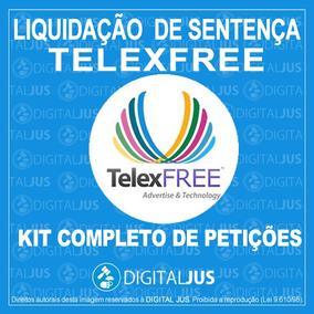 Kit De Pet. Para Liquidação De Sentença Telexfree Ympactus