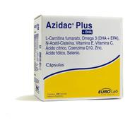Azidac Plus + Dha 120 Cápsulas Fertilidad Masculina Eurolab