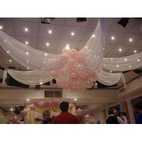 Arreglos De Salon Con Globos En Mercado Libre Mexico - Adornos-con-globos-para-bodas