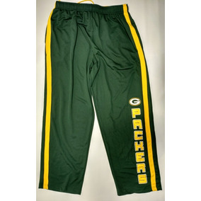 Pantalón De Green Bay Packers Nfl Talle Xl Verde Y Amarillo