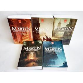 Game Of Thrones - Box Crônicas De Gelo E Fogo, 5 Livros