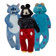 Kit 3 Mamelucos Disney Mickey, Sulley, Stich A Precio De 2