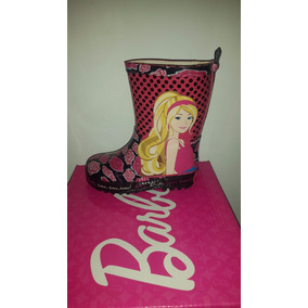 Bota Lluvia Barbie Original - Rosario