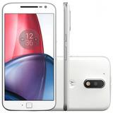 Celular Motorola Moto G4 Play Xt1602 16gb 4g 2 Chips Branco