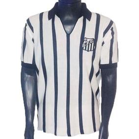 Camisa Retrô Santos 1963 + Nome 4e21088368693