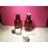 Frasco De Vidrio Ambar De 30 Cc - Perfumería/homeopatía