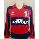 Camisa Retrô Flamengo 88 M/longas- F R E T E . G R Á T I S !