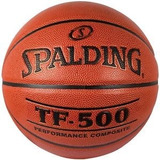 Pelota Basquetball Cuero 100% Original Spalding Tf-500