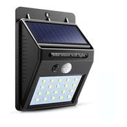 Foco Led Solar 20 Led Con Sensor Movimiento Exterior