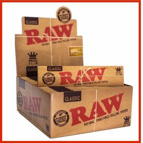 Seda Raw Grande King Size Classic Caixa Com 50