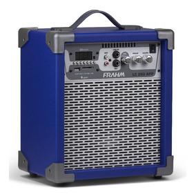 Caixa Amplificada Multiuso Frahm Lc 250 App Azul 60w Rms