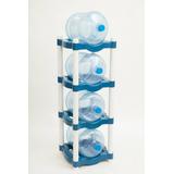 Rack De Plástico Para 4 Garrafones. Envío Gratis