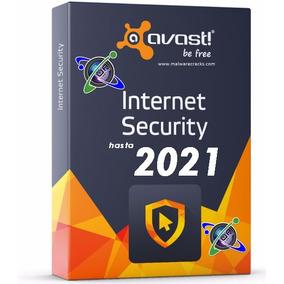 Antivirus Avast Internet Security 2017 Original Hasta 2021
