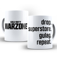 Caneca Call Of Duty (cod) Warzone Gulag