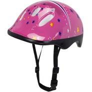 Capacete Rosa Infantil Bike Patins Patinete Skate Bicicleta