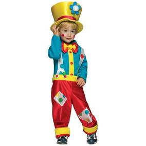 Rasta Imposta Clown Boy Con Pantalón Camisa Y Sombrero, Mul