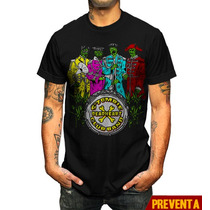 Playera King Monster Sargento Zombie Beatles En Vandalos