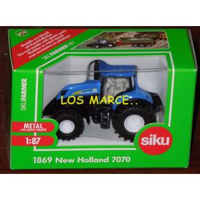 Siku 1869 Tractor New Holland 7070 1/87 Precio Insuperable !