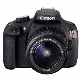 Maquina Fotográfica Profissional Canon Eos Rebel T5 Preta