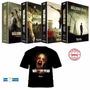 Dvd The Walking Dead 1ª, 2ª, 3ª E 4ª Temporadas + Camisa