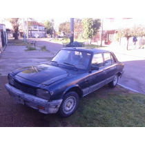 Peugeot 504 Diesel Color Azul No Taxi