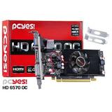Placa Video Amd 2gb Ddr5 128-bits Pcyes Radeon Hd 6570 Low P
