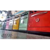 Cocina Ind 57cm Ares De Colores