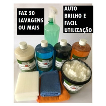 Mini Kit De Produtos Lavagem A Seco Auto Wash - 20 Lavagens