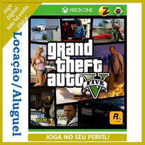 Gta V Grand Theft Auto Xbox One Aluguel 7 Dias [joga Online]