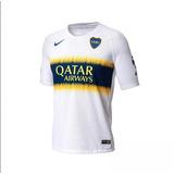 Camiseta Boca Juniors Altern 2019 Nike Suplente Blanca Qatar