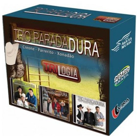 Box 3 Cd´s Trio Parada Dura - Trilogia