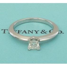 Anillo De Compromiso Tiffany & Co .24 Ct Diamante Original
