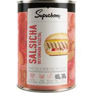 Salsicha Vegana Defumada 400g - Superbom